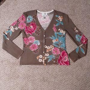 TALBOTS petites sz SM light sweater top